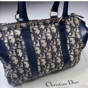Vintage Christian Dior Trotter Bag Purse
